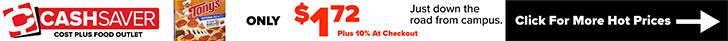 Cash Saver - Tony's Pizza $1.72