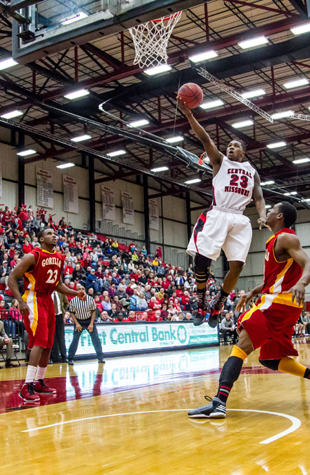 Senior guard Reggie Stallings and the Mules basketball team host Northwest Missouri State Saturday. (Photo by ANDREW MATHER, Photo Editor)