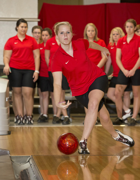 Freshman bowler Mary Wells is the seventh Central bowler to make Junior team USA. (Photo courtesy of UCM Media Relations)