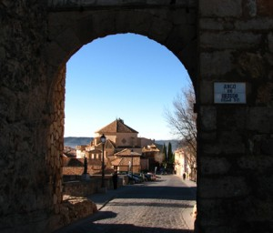 (Courtesy photo) Arch over the city walls at El Castillo.