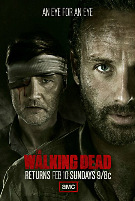 """""""The Walking Dead"""" will grace airwaves with blood and gore Sunday night at 8 p.m. on AMC. (Graphic courtesy of AMC.com)"""