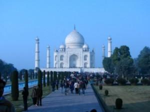 (Courtesy photo) Distant view of the Taj Mahal.