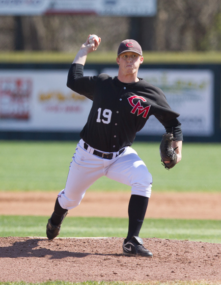 Redshirt junior pitcher Kurtis Schuyler is scheduled to start game two of Saturday's doubleheader against Emporia State. (Photo by ANDREW MATHER, Photo Editor)