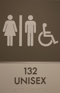 PHOTO BY BRANDON BOWMAN / PHOTO EDITOR Gender-neutral restrooms are becoming more available across the dorms.