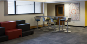 PHOTO BY BRANDON BOWMAN/PHOTOGRAPHER Renovated areas and new furniture will be available for meeting and conferences for multicultural student organizations.