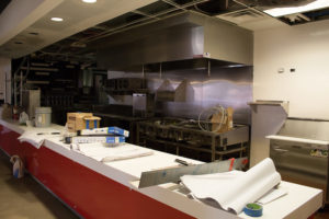 PHOTO BY BRANDON BOWMAN/PHOTOGRAPHER Construction on Steak 'n Shake began over the summer as crews put in a new countertop and cooking equipment.