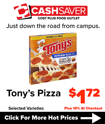 Cash Saver - Tony's Pizza $1.72