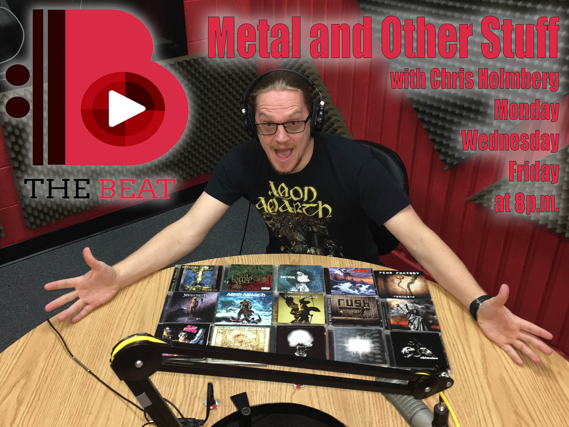 Metal and Other Stuff with Chris Holmberg